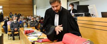 ASSISES JOUR 2 - MAÎTRE PIERRE DEBUISSON REPRÉSENTE LA FAMILLE D'AMANDINE ESTRABAUD