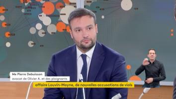 Maître Pierre DEBUISSON lance un appel aux victimes de viol sur FRANCE INFO TV