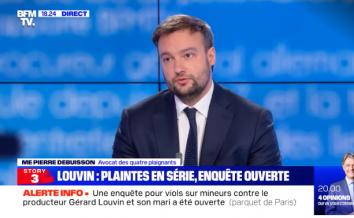 Affaire LOUVIN : Maître Pierre DEBUISSON défend les victimes sur BFM TV